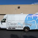 Clean My Paws Phoenix Fleet Graphics by Powerhouse Group